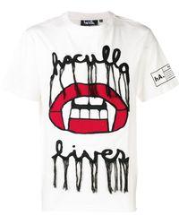 Haculla Lives Tシャツ - マルチカラー