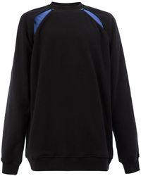 Y. Project クルーネック スウェットシャツ - ブラック