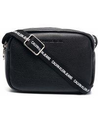 Calvin Klein Каркасная Сумка С Двойной Молнией - Черный