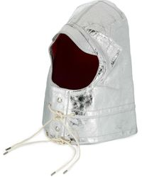 CALVIN KLEIN 205W39NYC Metallic Hat - Grey