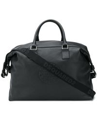 DSquared² - Logo Embossed Large Holdall - Lyst