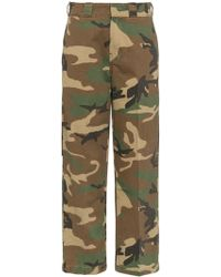 R13 - Camouflage Print Trousers - Lyst