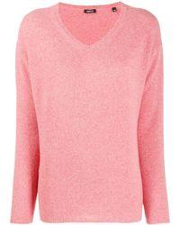 Aspesi V-neck Sweater - Pink
