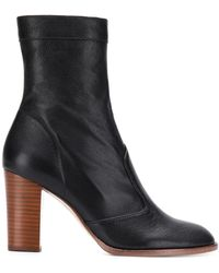 Marc Jacobs Sofia Loves The Ankle Boots - Black