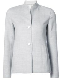 Akris | Boxy Blazer Jacket | Lyst