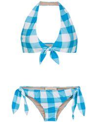 Adriana Degreas - Bikini à carreaux - Lyst