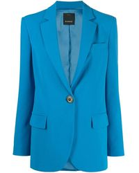 Pinko シングルジャケット - ブルー