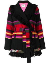 Bazar Deluxe - Striped Cardi-coat - Lyst