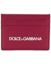 e850b544503 Dolce & Gabbana Madonna Print Wallet in Green for Men - Lyst