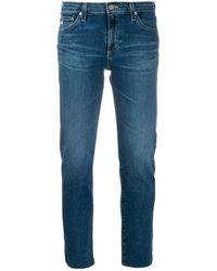 AG Jeans Prima クロップドジーンズ - ブルー