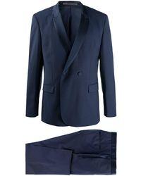 HUGO ダブルスーツ - ブルー