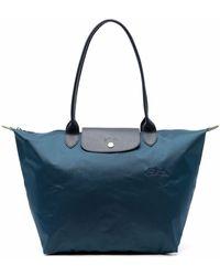 Longchamp Le Pliage ショルダーバッグ - ブルー