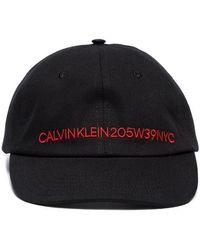 CALVIN KLEIN 205W39NYC - Embroidered Logo Hat - Lyst
