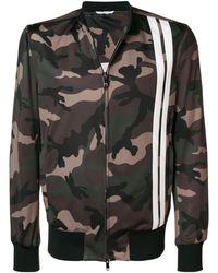 Valentino Camouflage Track Jacket - Groen