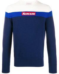 Moncler - カラーブロック プルオーバー - Lyst