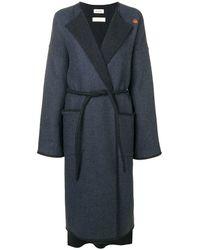 Zadig & Voltaire Mood Trench Coat - Blue