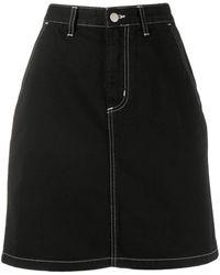 Carhartt WIP Aライン スカート - ブラック