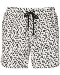 Fefe - Pirate Print Swim Shorts - Lyst