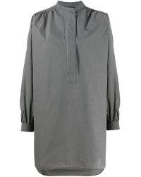 Sofie D'Hoore Gingham Oversized Shirt - Black