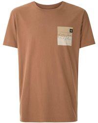 Osklen プリント Tシャツ - ブラウン