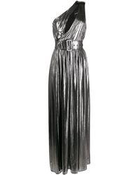 retroféte - ワンショルダー ベルテッドドレス - Lyst