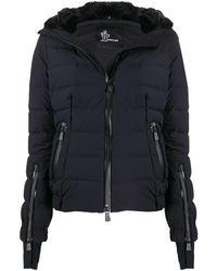 3 MONCLER GRENOBLE パデッドジャケット - ブラック