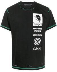 United Standard グラフィック Tシャツ - ブラック