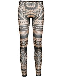 DSquared² - Novelty Print Footless Tights - Lyst