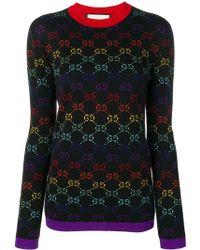 Gucci GGパターン セーター - マルチカラー