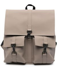 Rains Clip-fastened Cargo Backpack - Grey