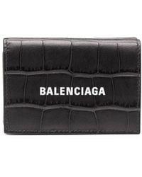Balenciaga Cash 財布 - ブラック