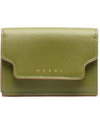 Marni 三つ折り財布 - グリーン