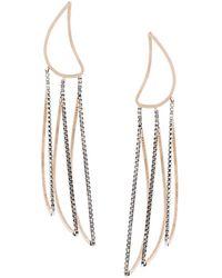 By Boe   Petal Outline Earrings   Lyst