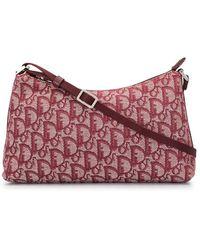 Dior Сумка На Плечо С Узором Trotter - Красный