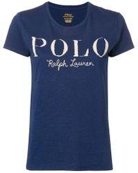 Polo Ralph Lauren - Logo T-shirt - Lyst