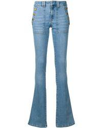Victoria, Victoria Beckham Flared Jeans - Blauw