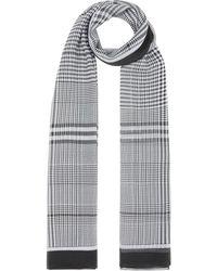 Burberry - チェック スカーフ - Lyst