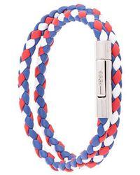 Tod's - Double Wrap Bracelet - Lyst