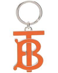 Burberry Tb Key Chain - Metallic