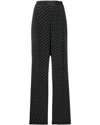 Stella McCartney Logo Pants - Black