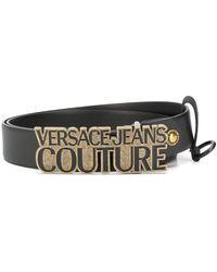 Versace Jeans Couture Ремень С Пряжкой-логотипом - Черный