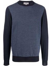 Canali - バイカラー セーター - Lyst