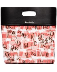 Palm Angels Ransom Logo Printed Tote - Multicolour