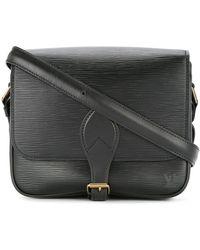 Louis Vuitton Pre-owned Cartouchiere Cross Body Shoulder Bag - Black