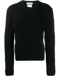 Bottega Veneta テクスチャード セーター - ブラック