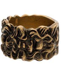 Gucci - Lion Head 15mm Ring - Lyst