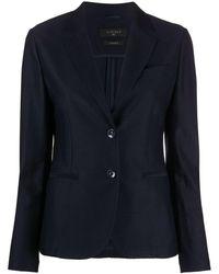 Circolo 1901 Button-front Blazer - Blue