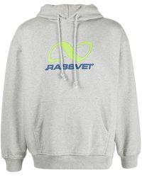 Rassvet (PACCBET) ロゴ パーカー - グレー