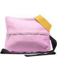 Rick Owens DRKSHDW Colour-block Belt Bag - Pink