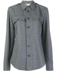 Stella McCartney Camisa clásica - Gris
